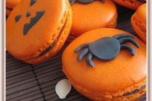 Macarons .... pour Halloween