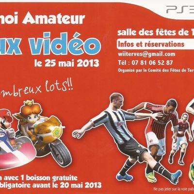 Tournoi amateur jeux vidéo 'WII et PS3'