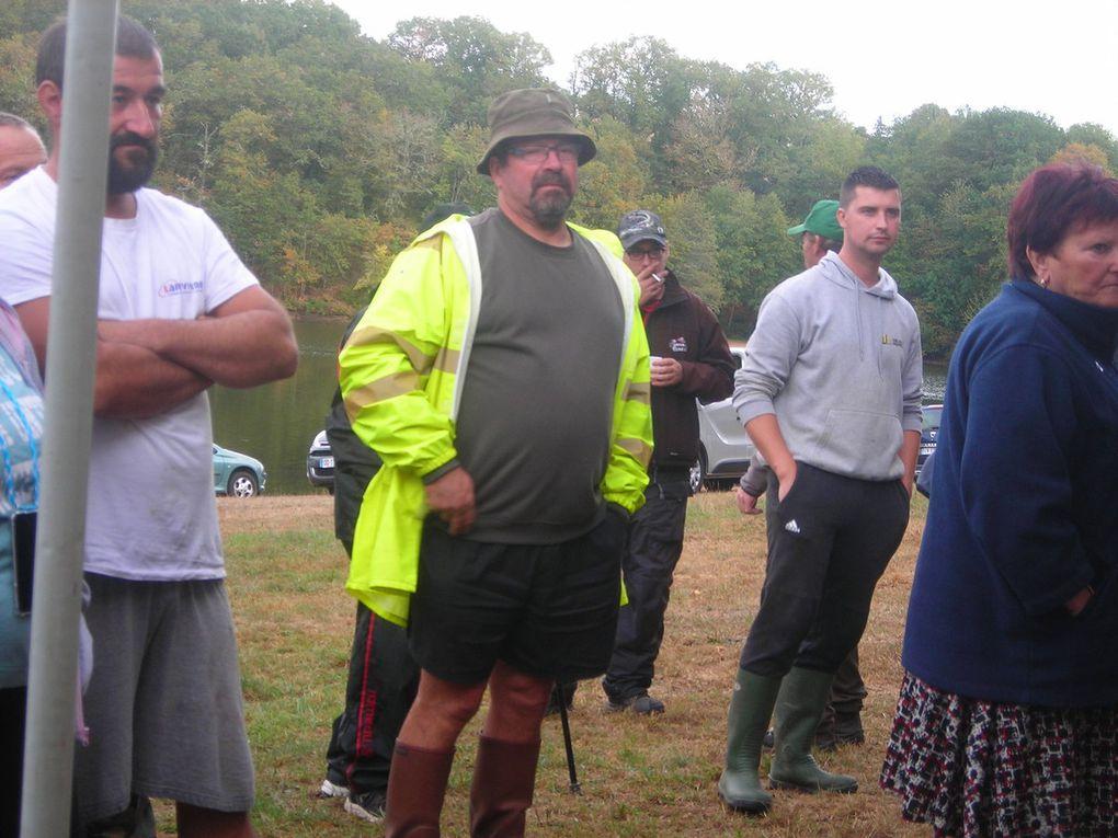 Photos et classement du marathon de pêche du poisson chat