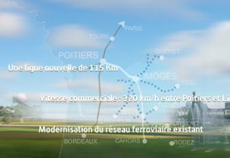 LGV Poitiers-Limoges : financement et priorité selon le Secrétaire d'Etat aux Transports