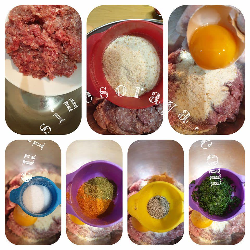 Roulades d'aubergines farcies à la viande