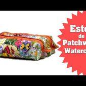 Patchwork Ana Cosentino: Estojo Watercolor