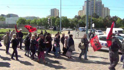 VIdéo : mobilisation des ATTEE contre les suppressions d'emplois (15 mai)
