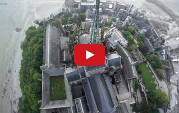 VIDEO - découverte du Mont Saint Michel en drone