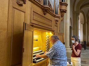 L'orgue Quentin Blumenroeder à Charolles