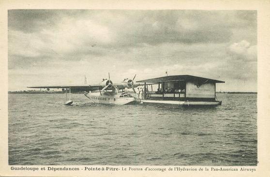 Pourquoi les avions atterissent-ils à Pointe-à-Pitre, Guadeloupe?