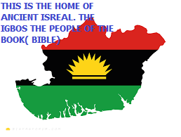 BIAFRA MAP/FLAG