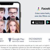 La populaire application FaceApp sur la sellette aux Etats-Unis