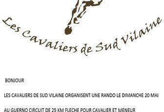Rando à Le Guerno (56) dimanche 20 mai 2018