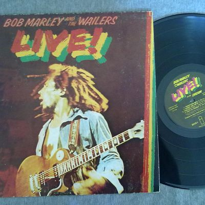 Bob Marley And The Wailers ‎– Live! LP € 7.50