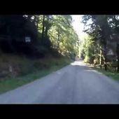 Goldwing Unsersbande ballade Vosges montée vers le champ du feu 1