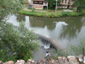 Le Dadou qui traverse la ville de Graulhet