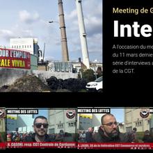 Interview de militants CGT au meeting de Gardanne (11 mars 2021)