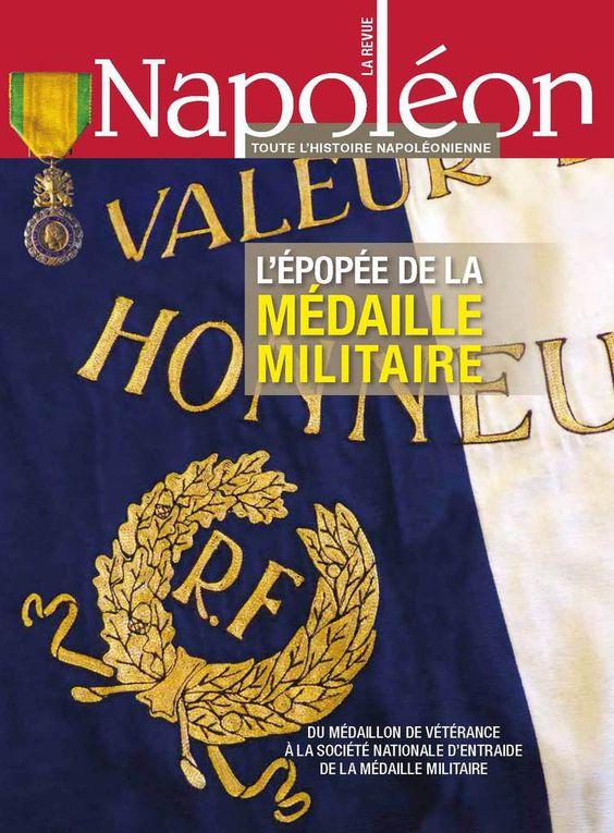 """""""L'EPOPEE DE LA MEDAILLE MILITAIRE"""" LU AU PLUS HAUT NIVEAU NATIONAL...."""