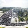 Manifestation nationale à l'appel du PAME, 1er novembre 2014