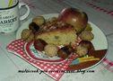 Gâteau d'automne aux noix et pommes