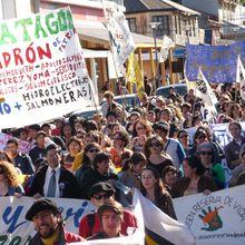 Chile: Piñera trata de aprobar de contrabando Represas en Patagonia