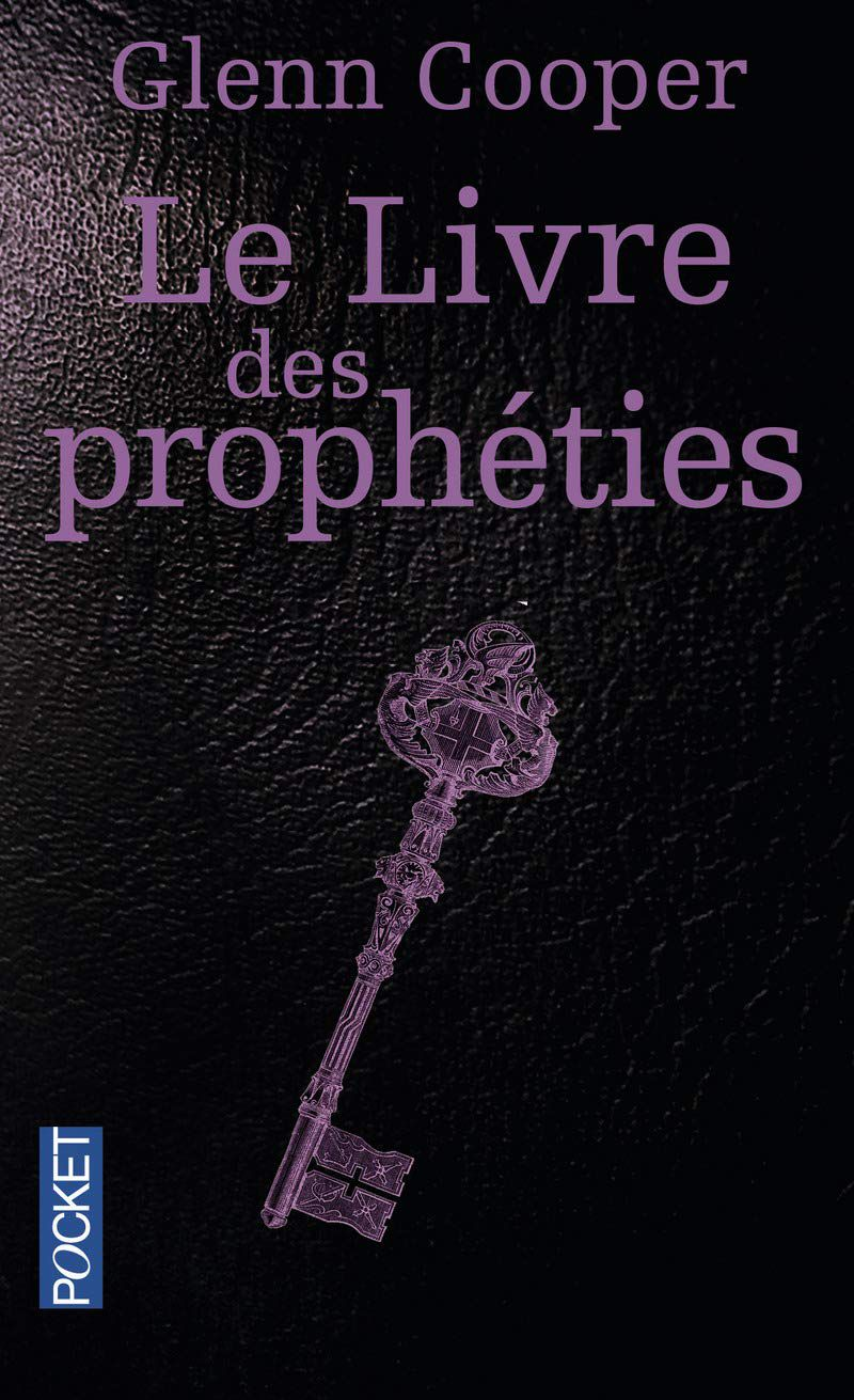 le livre des prophéties, de Glenn cooper - amazon - www.audetourdunlivre.com