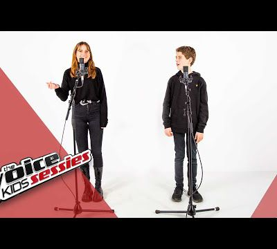 SESSIE: Laura & Stan brengen 'Too Good At Goodbyes' | The Voice Kids | VTM