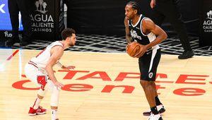 Kawhi Leonard (35pts) et les Clippers s'en sortent bien face à un excellent Zach LaVine (45pts)