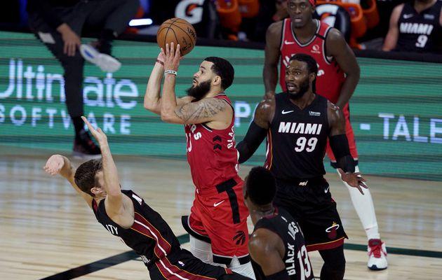 Fred VanVleet mène Toronto avec un record personnel en carrière face au Heat