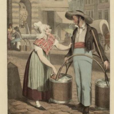 3. Porteur d'eau à Paris 1858, l'histoire de l'alimentation en eau de la capitale. A la recherche du réel...