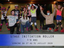 STAGE INITIATION ROLLER-7/9 ANS-SEMAINE DU 27 AU 31 JUILLET 2020