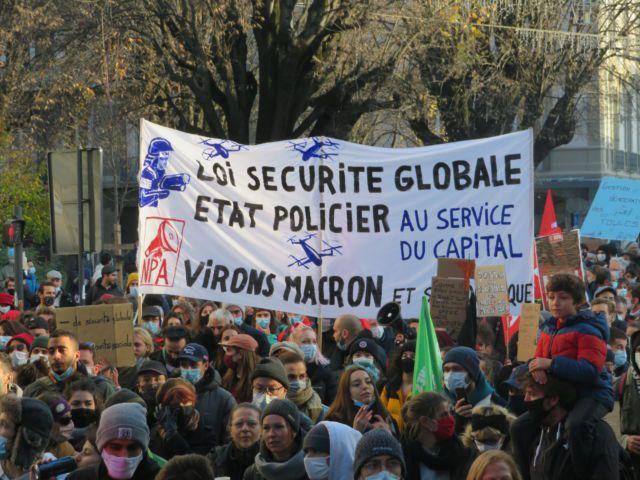 Photos : 13 000 à Lyon samedi pour les libertés et contre la loi sécurité gobale