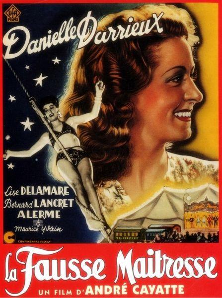 La fausse maîtresse d'André Cayatte (1942)