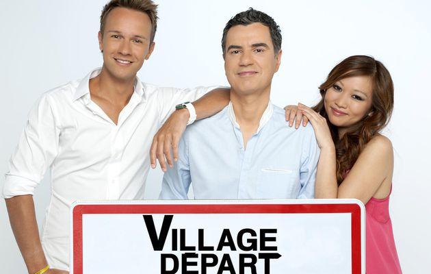 Village Départ à Albertville avec Marina Kaye, Amine, Candeloro et Monfort ce vendredi