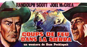 Coups de feu dans la sierra  ( Ride the high country )