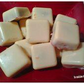 Chocolat blanc au spéculoos au thermomix ou sans - La cuisine de poupoule