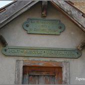 Bascule ou poids public - L'Auvergne Vue par Papou Poustache