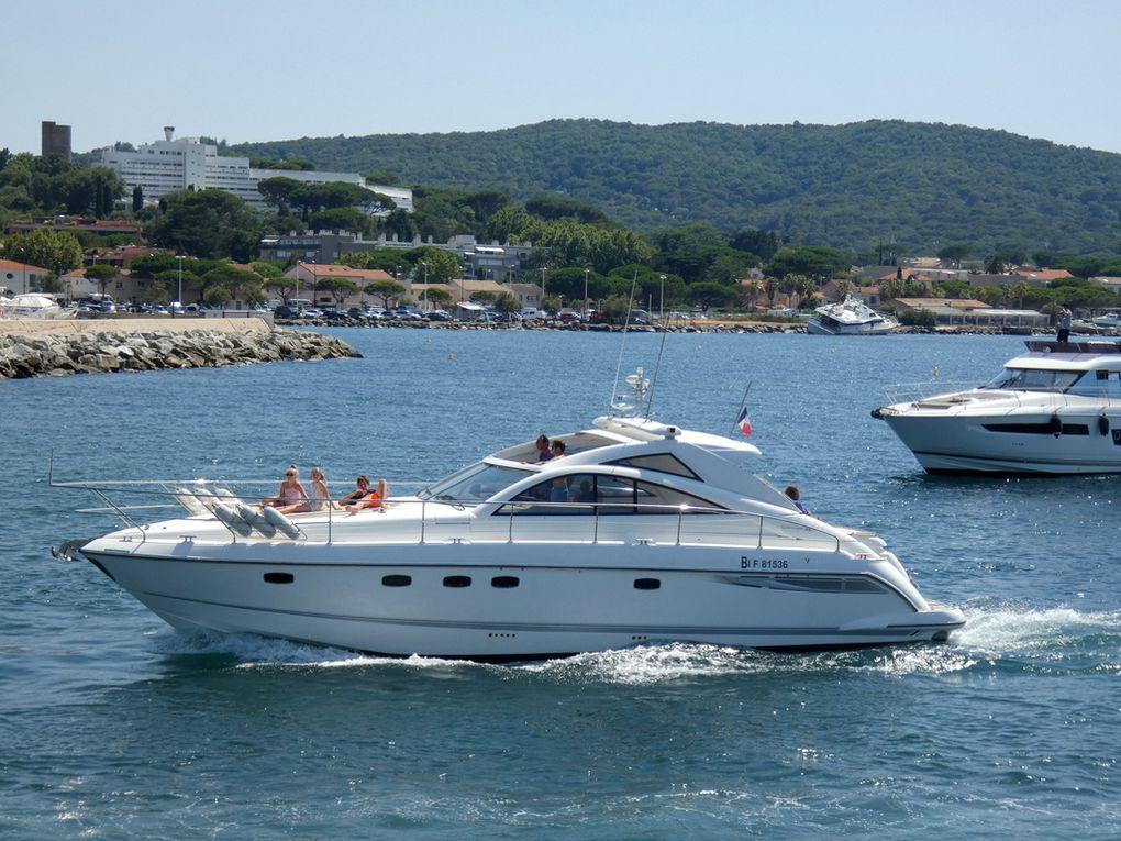 GAEDO , entrant dans le port de saint Tropez le 22 juillet 2020
