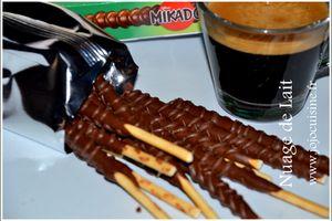 Jeu/Concours Mikado King Choco 2 x plus de Chocolat. Qui a gagné?