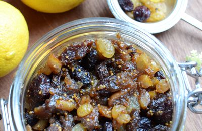 Mincemeat - confiture de fruits secs de Noel