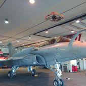 MCO Aéronautique : Quand un drone inspecte un avion Rafale