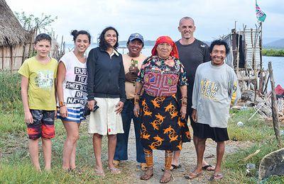 Petit témoignage de nos rencontres avec les Kunas et les Emberas du Panama