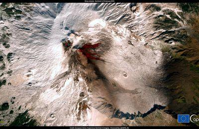 Activité de l'Etna, du Merapi, de Suwanosejima et de la Soufrière de St Vincent.