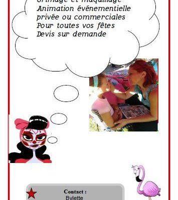 Maquillage enfants pour toutes manifestations