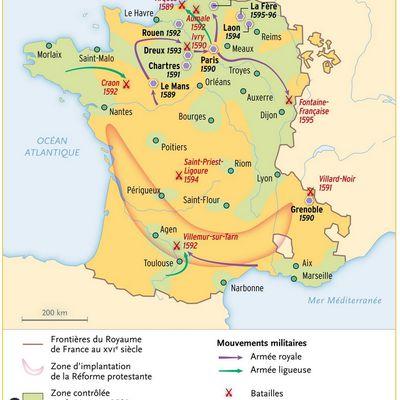 Le siège du Mans par Henri IV en 1589