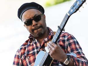 Cahors Blues Festival : JC Brooks and the Uptown Sound- Taj Mahal