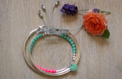 Bracelets pour faire durer l'été {DIY}