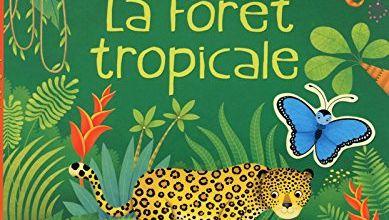 La forêt tropicale - Autocollants Usborne