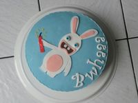 Gâteau Lapin Crétin
