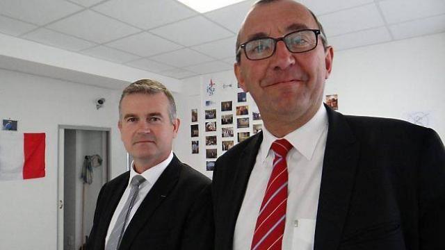 Patrick Le Fur ; tête de liste FN aux régionales dans le Finistère ; le petit chefaillon pète un câble