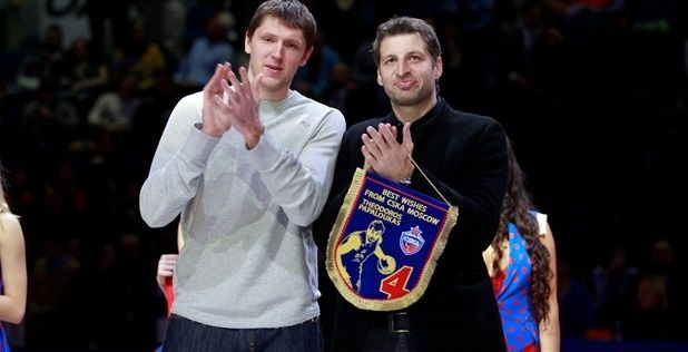 CSKA Moscow, Euroleague Basketball honor basketball legend Theo Papaloukas