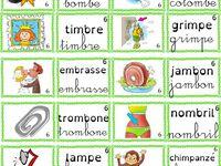 Montessori : série rose, bleue, verte pour lettres mobiles ou dictées muettes GS, CP, ULIS