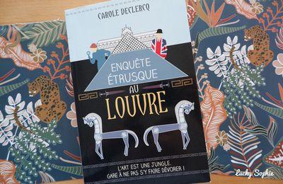 Enquête étrusque au Louvre, cosy crime dans le monde de l'art !