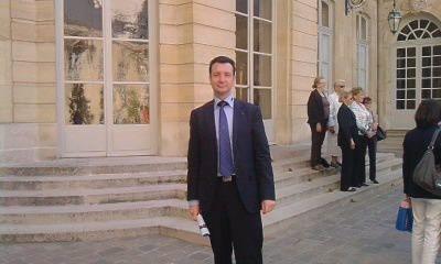 Le président de l'UGF et Femme Avenir en visite à Matignon le 9 avril 2011. Merci Maryse VISEUR.